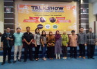 "Talkshow ""Produksi Televisi bekerjasama dengan penyiaran Islam FUAD IAIN Samarinda dan POLNES broadcast education"""